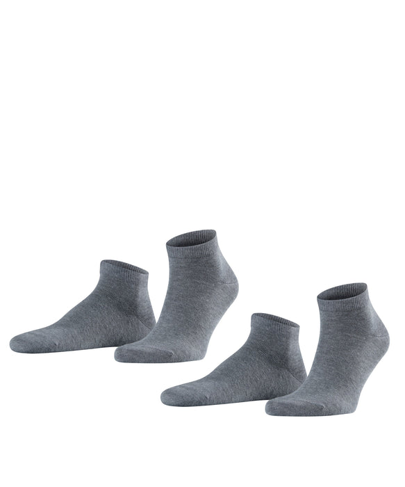 FALKE Happy 2-Pack Herren Sneakersocken