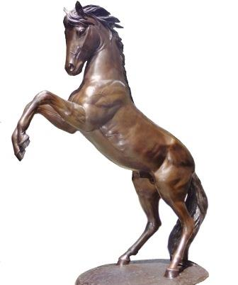 Bronze 'Horse Buttress' 230cm