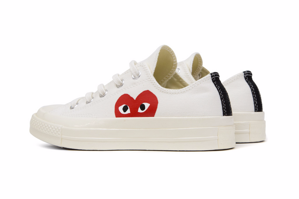 ... Converse CDG X Chuck Taylor 1970s HiOX 18SS Skateboarding Shoes Sport  for Men and Women Unisex ... 5b8c74290779