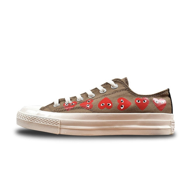 a6807ddd520f2a Converse CDG X Chuck Taylor 1970s HiOX 18SS Skateboarding Shoes Sport –  BelieveTee