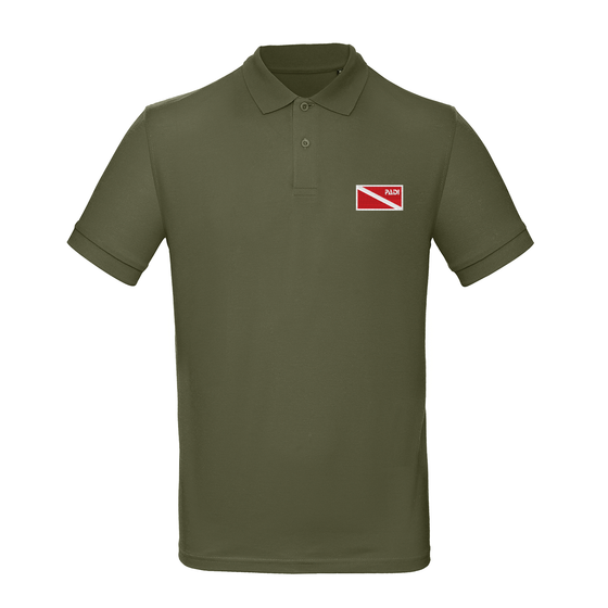 Men's Organic Classic Diver Down Polo - Khaki