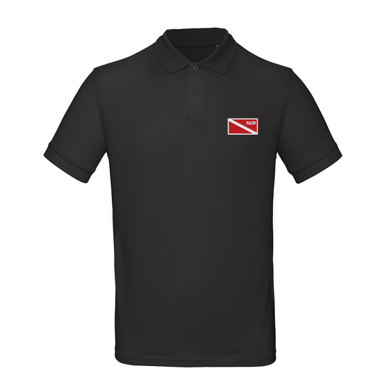 Men's Organic Classic Diver Down Polo - Black