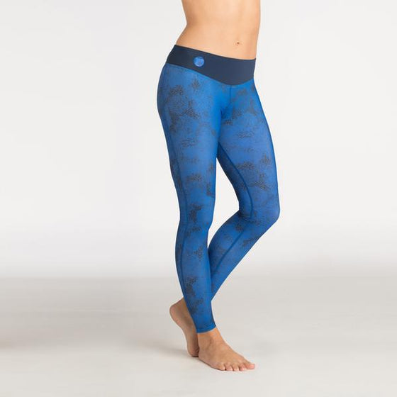 Women's Hydro Leggings - Blue
