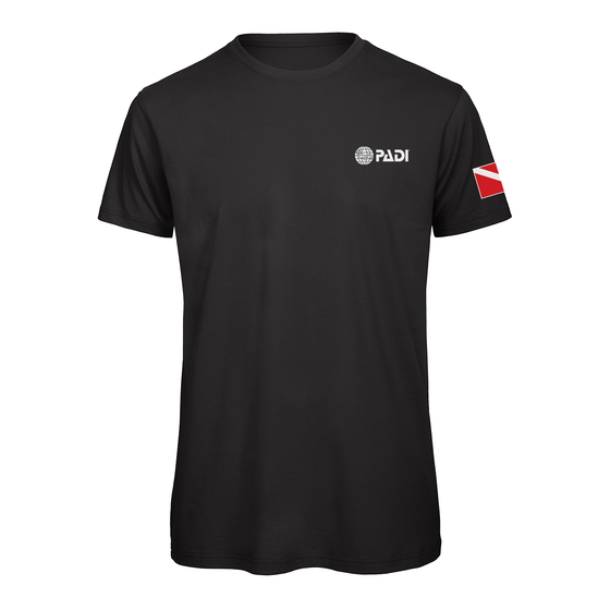 PADI Dive Flag Series-Black