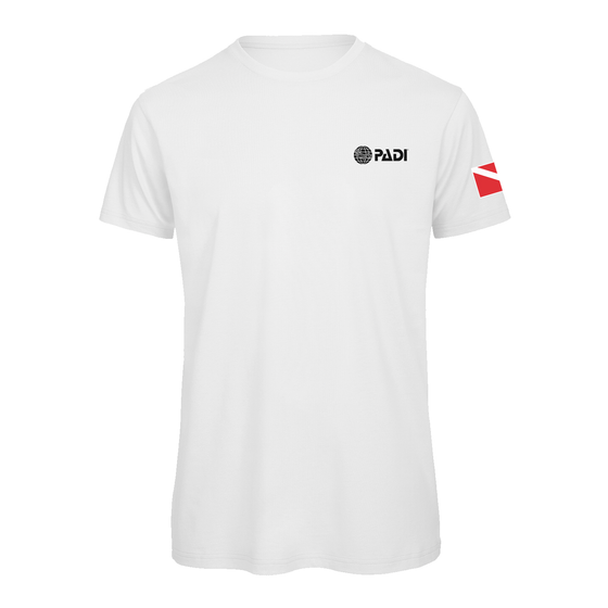 PADI Dive Flag Series-White