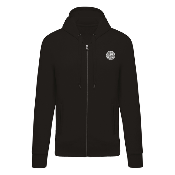 Diving Full Zip Hoodie - Black