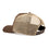 Diver Down Trucker Hat Dark Brown with Black/White Flag