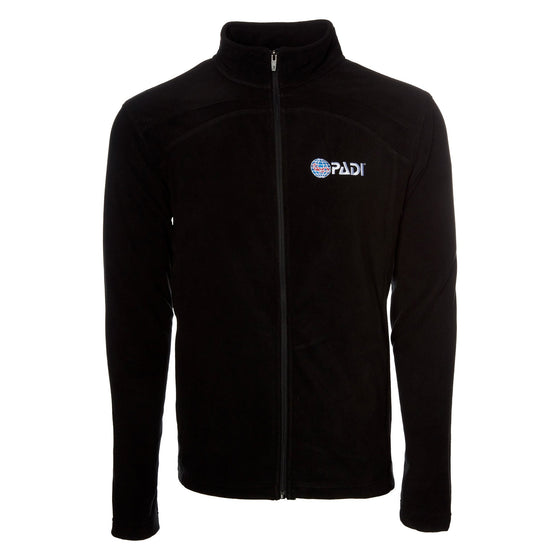 Men's Full-Zip Fleece Jacket - Black
