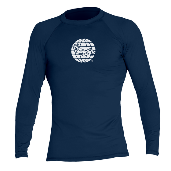 PADI Globe Men's Rash Guard – Navy