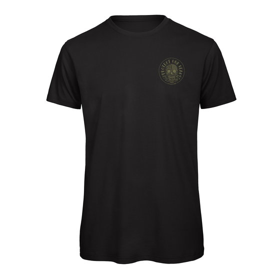 Unisex Protect Our Seas Charity Tee - Black