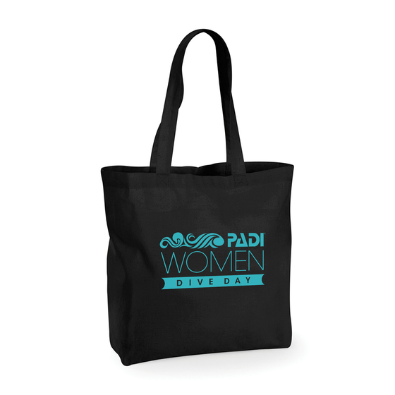 WDD Logo Tote Bag- Black