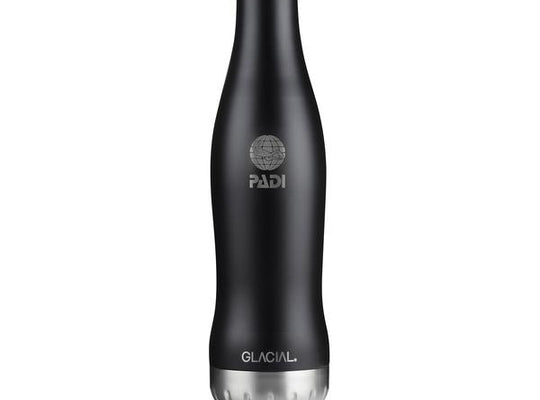 GLACIAL Matte Black 20 Oz. Bottle