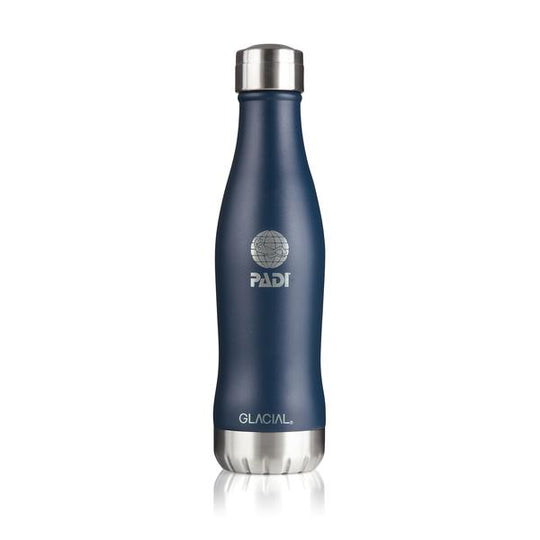GLACIAL Matte Navy 13.5 Oz. Bottle