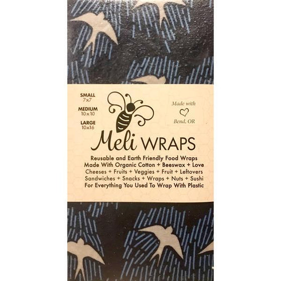 Meli Wraps Navy Manu 3 Pack