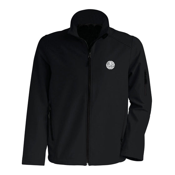 Jacket - Men's Softshell Jacket – Black