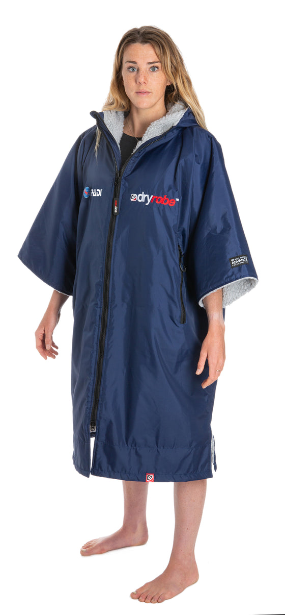 Dryrobe Short Sleeve- Navy