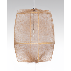 Sisal Net Hanging Light