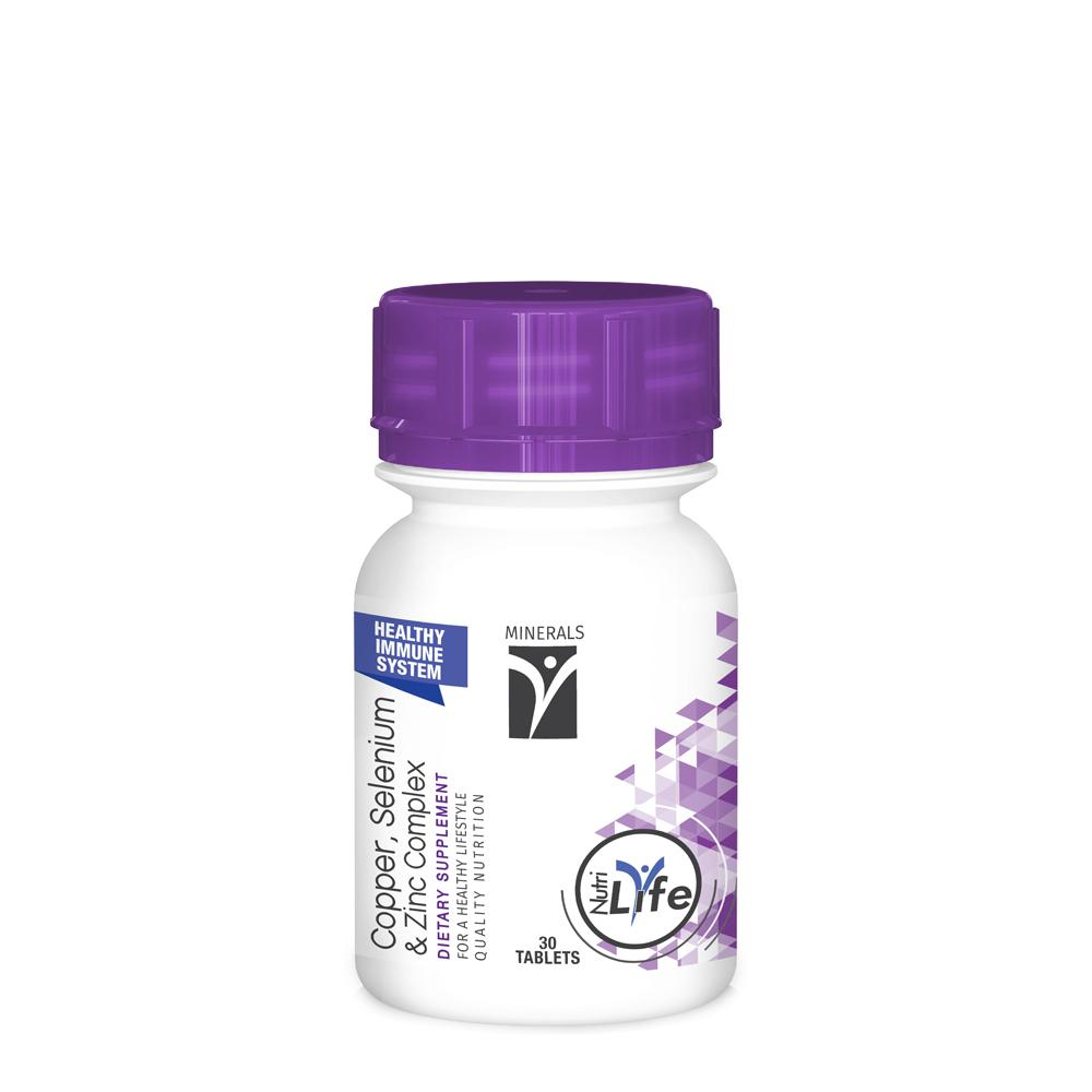Copper, Selenium and Zinc Complex