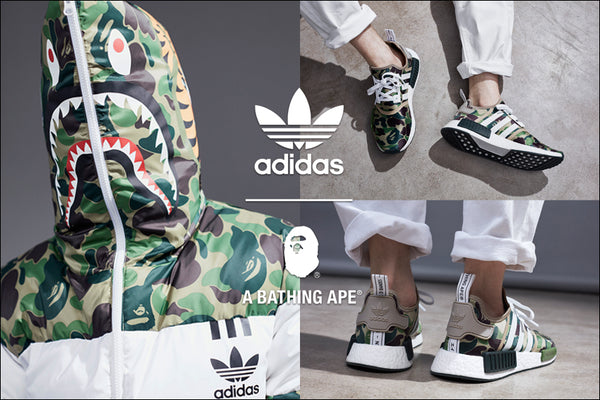 new product 09627 ba9dc adidas Originals by BAPE®