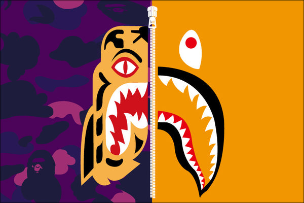 289637819771136207 together with Bapexanime moreover 679269556266681192 together with Krillin Black Outfit 613964703 besides A Bathing Ape Tiger Shark Collection. on supreme bape wallpaper cartoon