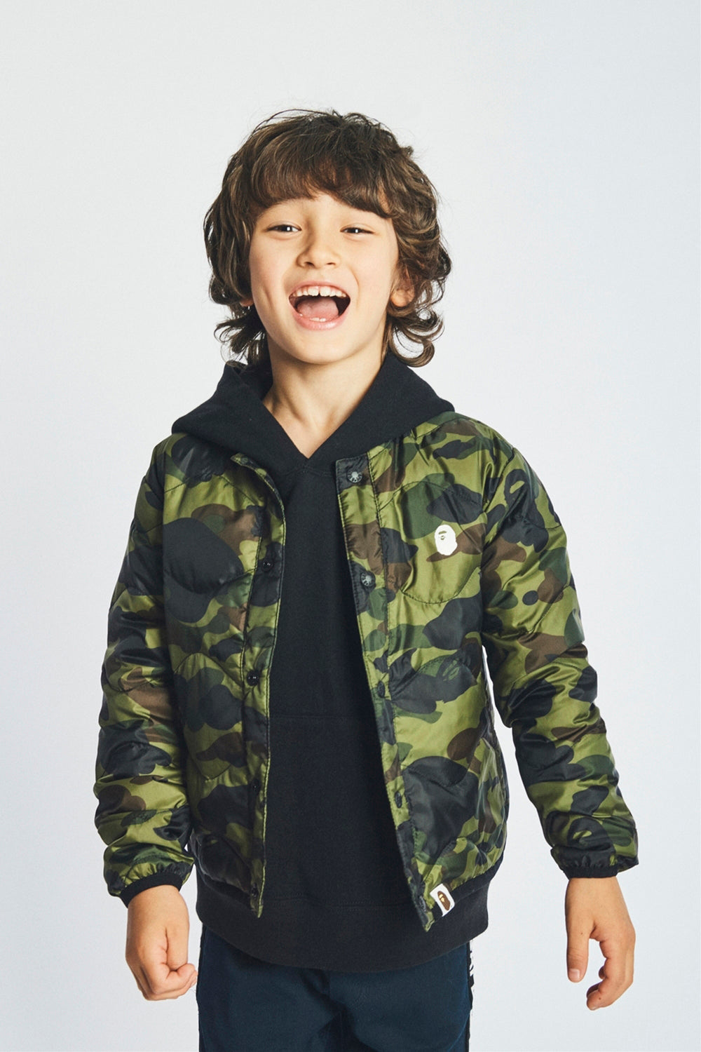 A BATHING APE 2019 AW KIDS' LOOKBOOK 01