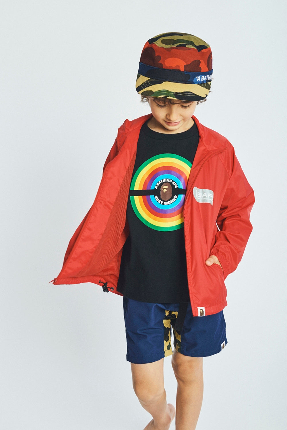 A BATHING APE 2019 AW KIDS' LOOKBOOK 03