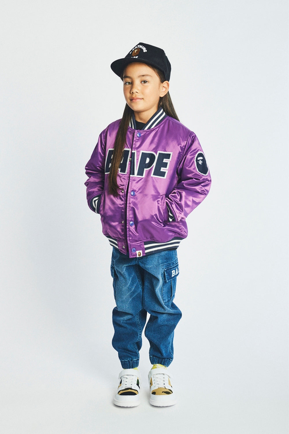 A BATHING APE 2019 AW KIDS' LOOKBOOK 04