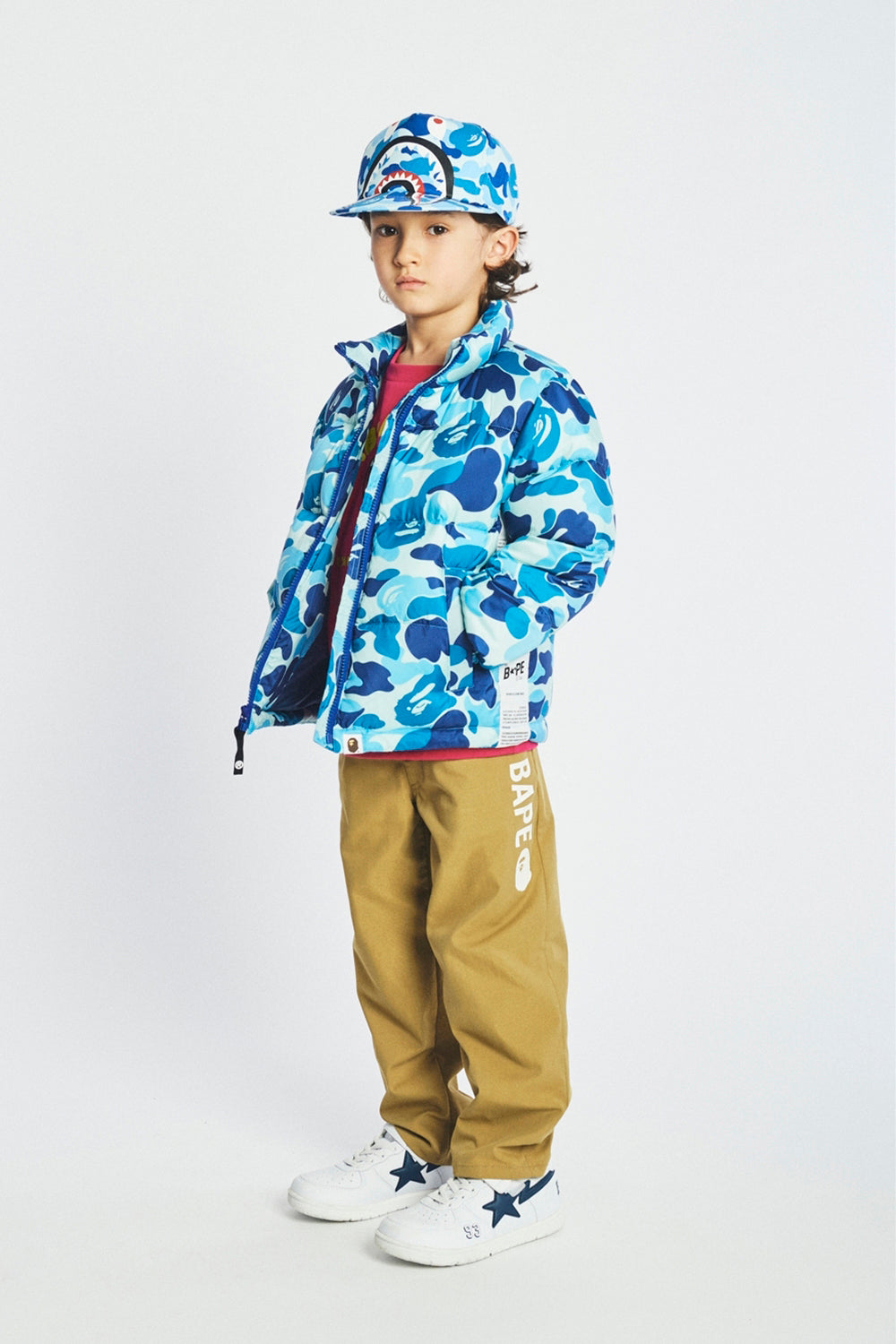 A BATHING APE 2019 AW KIDS' LOOKBOOK 07
