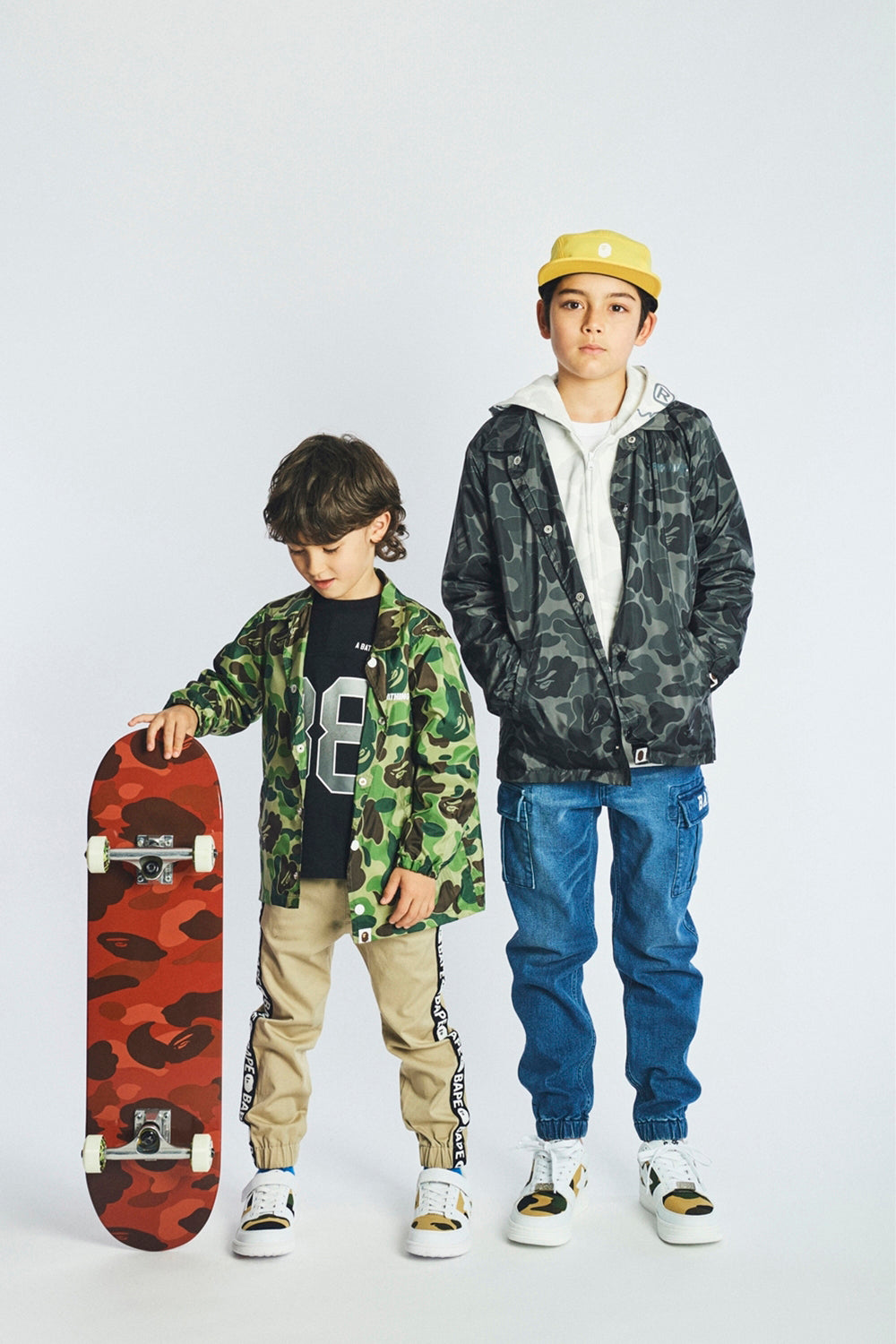 A BATHING APE 2019 AW KIDS' LOOKBOOK 16