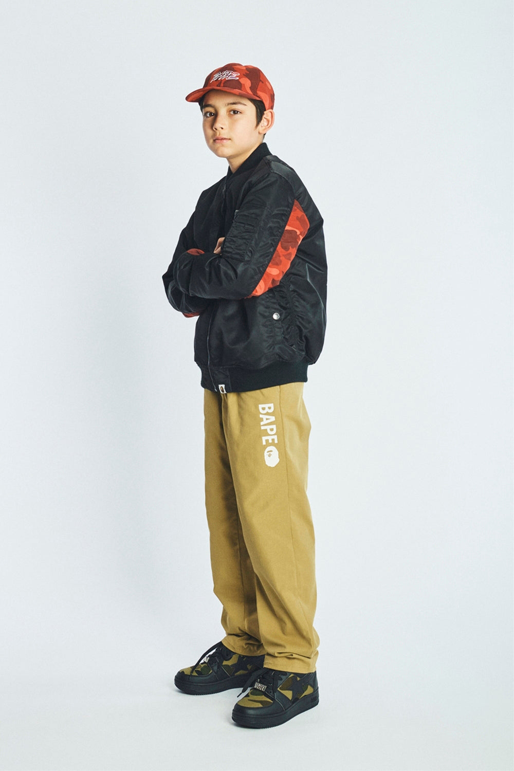 A BATHING APE 2019 AW KIDS' LOOKBOOK 24