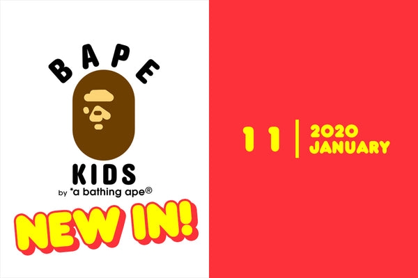 A BATHING APE® New In On Saturday, January 11th 2020