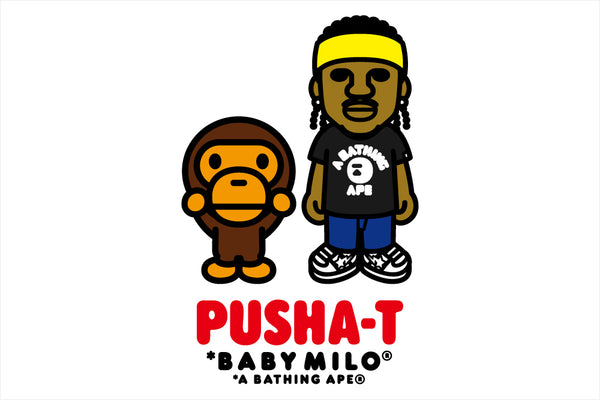 A BATHING APE® x PUSHA-T
