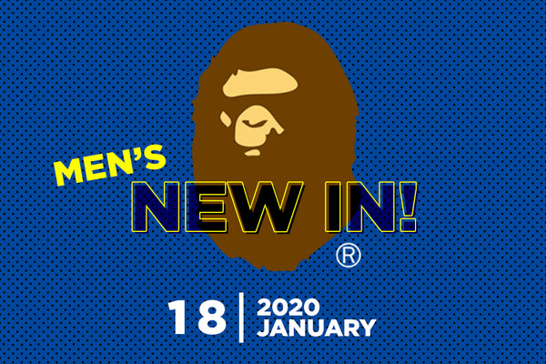 A BATHING APE® New In on Saturday, January 18th 2020