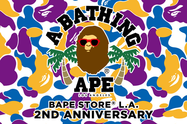 BAPE STORE® LOS ANGELES 2ND ANNIVERSARY