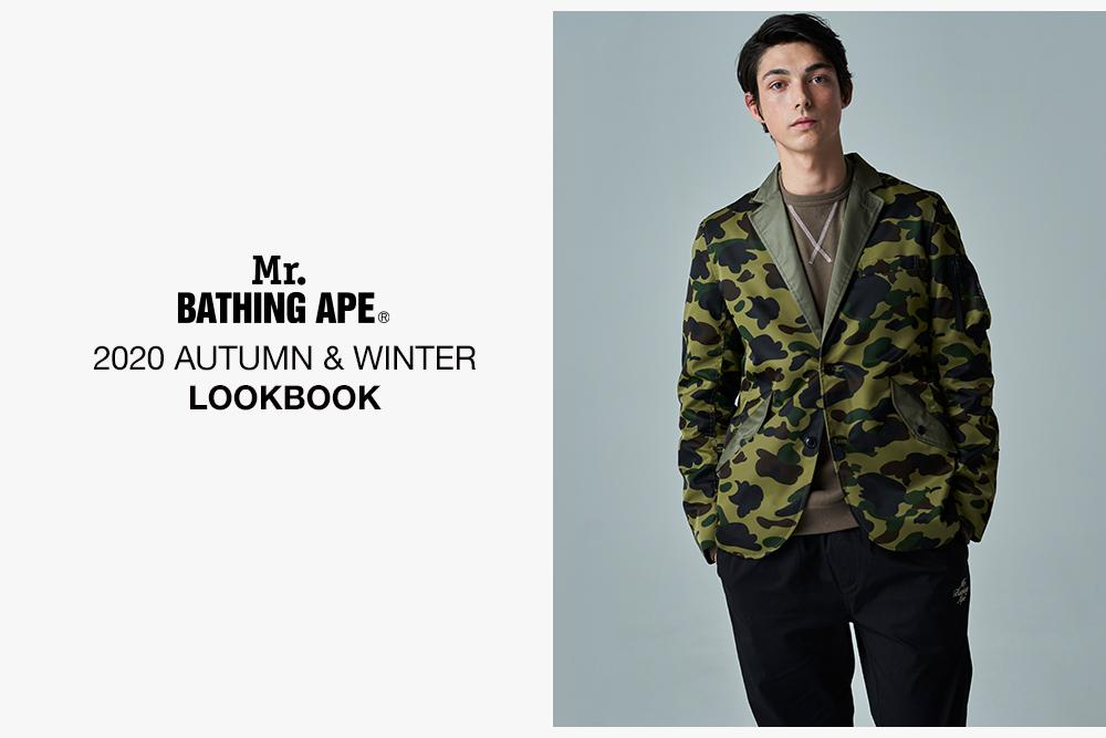 A BATHING APE 2020 AW MR'S LOOKBOOK 1