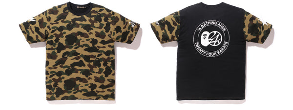 b34cf84e2 The collection will launch on Saturday, October 31st in official A BATHING  APE® and 24karats stores.