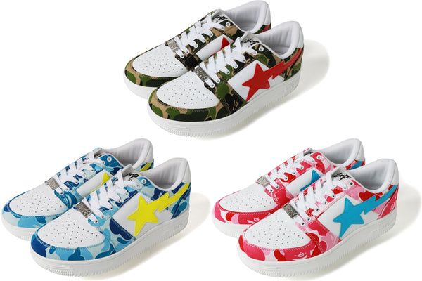 981abecf ABC BAPESTA™ LOW | us.bape.com