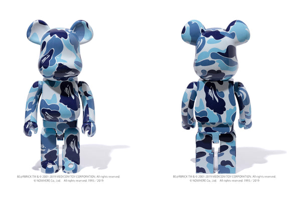 4963e413 BE@RBRICK ABC CAMO 1000% | us.bape.com