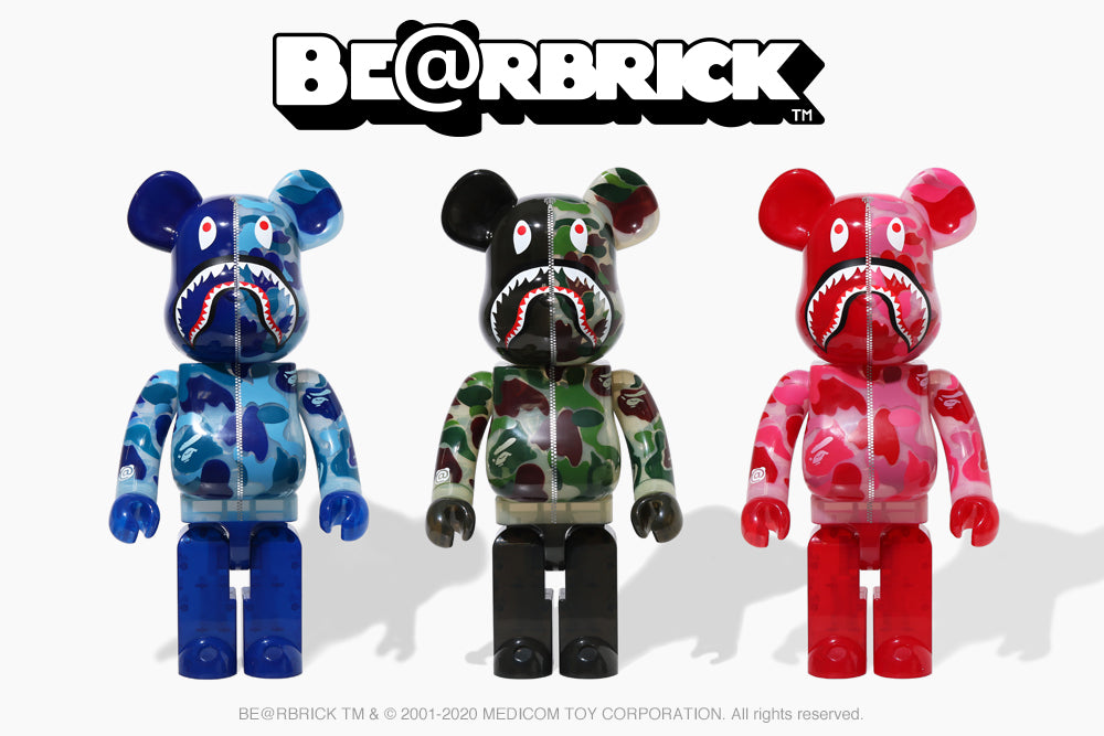 A BATHING APE® X BE@RBRICK
