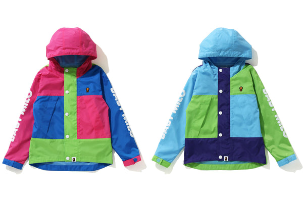 BABY MILO COLOR BLOCK HOODIE JACKET KIDS