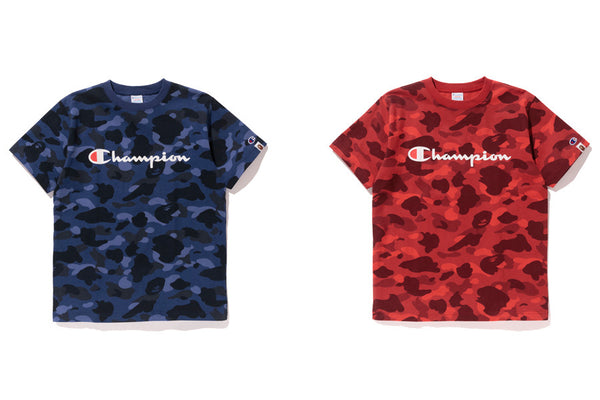 3c8e15aab A BATHING APE® X CHAMPION | us.bape.com