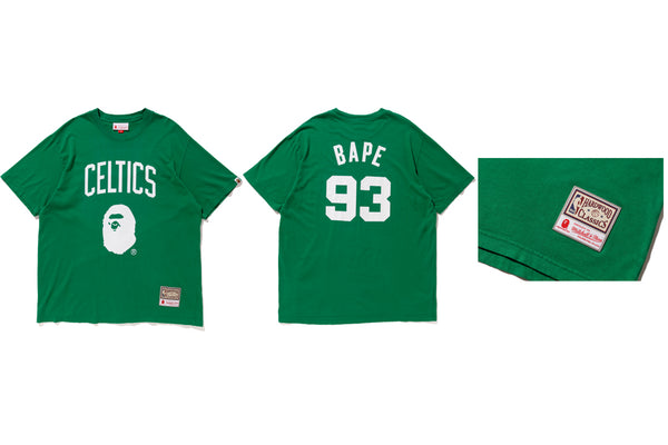 the best attitude a8d8d b3657 A BATHING APE® X MITCHELL & NESS | us.bape.com