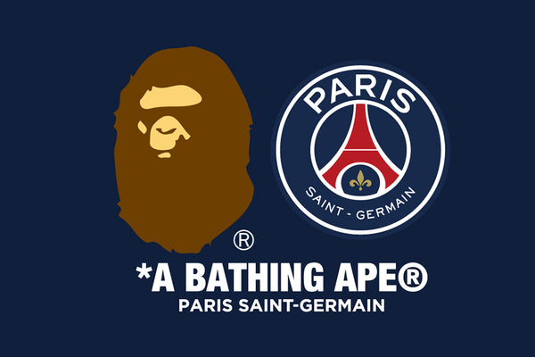c0644dc9 A year on from the much awaited opening of its store in the hip Le Marais  district, BAPE® has teamed up with Paris Saint-Germain, the French  capital's ...