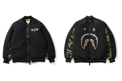 SHARK BOMBER JACKET