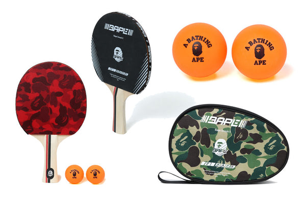 ABC TABLE TENNIS SET  sc 1 st  Bape & ABC TABLE TENNIS SET | us.bape.com