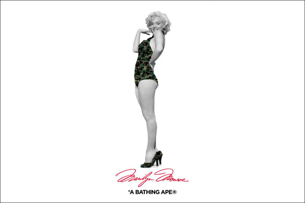 A BATHING APE® X Marilyn Monroe