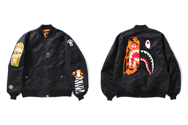 7dfcf459d A BATHING APE® TIGER SHARK COLLECTION | us.bape.com