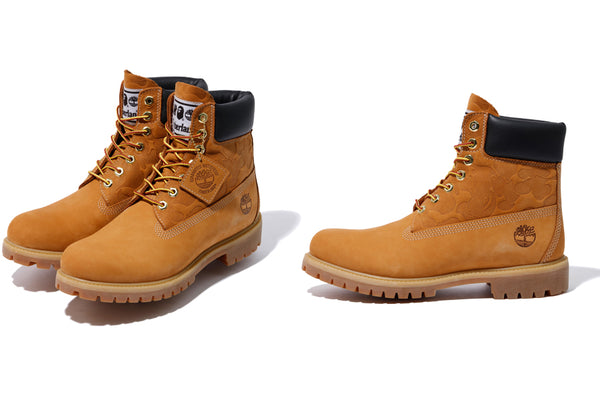 A BATHING APE® x UNDEFEATED x TIMBERLAND |