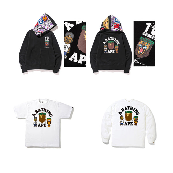 a7b2a896f8c4 This collection will pre-launch on April 25th at BAPE STORE® NEW YORK. On  the 2nd of May