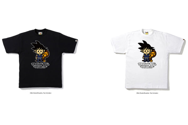 d1f86904a0ec To celebrate the 30th Anniversary of anime legend Dragon Ball, A BATHING  APE® and the Dragon Ball franchise present a capsule collection of graphic  tees, ...